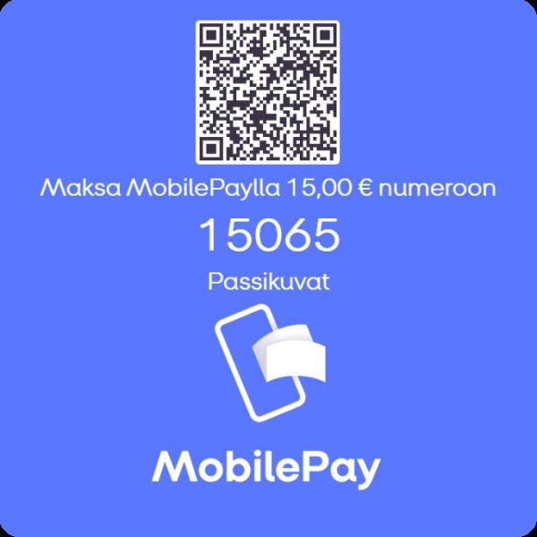 Passikuvat 15€ - MobilePay